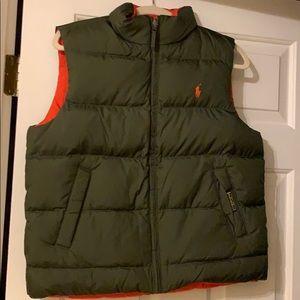 Boys Polo by Ralph Lauren reversible vest